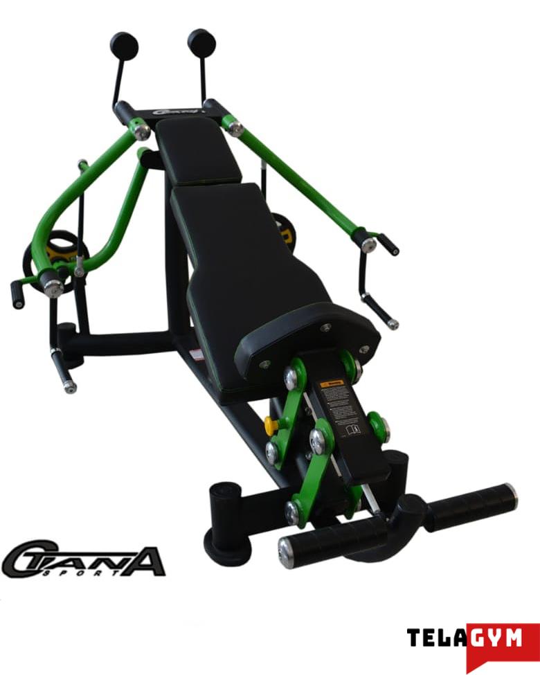 دستگاه بدنسازی قفسه سینه خوابیده تجهیزات بدن سازی باشگاه کراسفیت