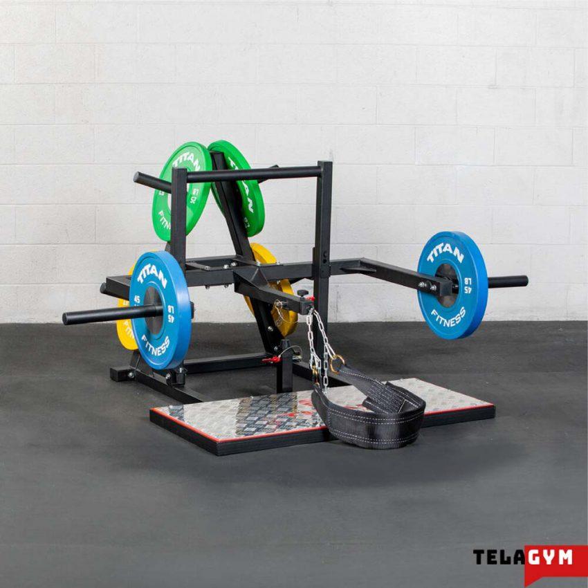 بلت اسکات مدل Belt squat TL-TI 01